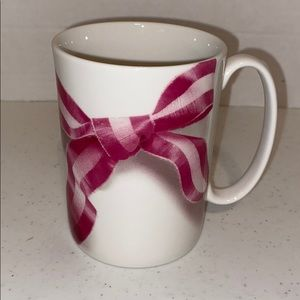"Kate Spade ""Take a bow"" coffee mug"